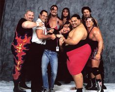 Bam Bam Biggelow, IRS, Crush, Yokozuna, Kevin Nash & Owen Hart