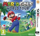 Mario Golf: World Tour Nintendo 3DS  - NEW - 1p Start No Reserve 99p - RARE -