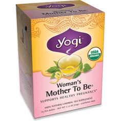 VEGAN PREGNANCY: Woman's Mother To Be® Tea