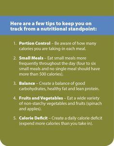 Nutrition tips from Julia Karlstad, MEd, CSCS