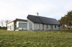 Rural, near Passivhaus in County Mayo, Ireland. Also conforms to Mayo Rural House Guidelines. See 'Tear Sheet' at: http://markstephensarchitectss.files.wordpress.com/2014/04/tear_mayo_rural_house.pdf (still a bit of painting to do but generally finished)