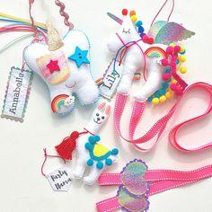 Rainbow everything! #toothfairypillow #hairbowholder #partyllama #heartfelthandmade #etsy