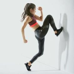 When the gym equipment's all taken, find wall space and run through these tricky moves.
