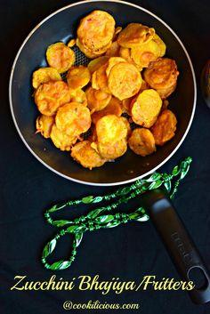 Zucchini Bhajiya/Fri