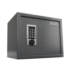 First Alert 2072F 1722 Cubic Inches Programmable Digital Security Safe ($93) ❤ liked on Polyvore featuring home, home improvement, anti-theft, digital / key lock, safe and slate
