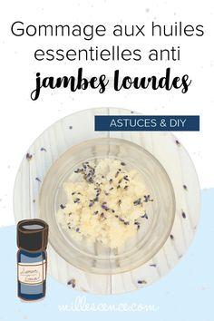 Comment fabriquer des soins à base d'huile essentielle contre les jambes lourdes ? Mes conseils & astuces d'aromathérapie. Lourdes, Doterra, Diy, Beauty Tricks, Aromatherapy Recipes, Natural Remedies, Legs, Bricolage, Do It Yourself