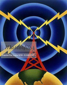 Radio Tower Steve Forney (20th C.) - Stock Photos