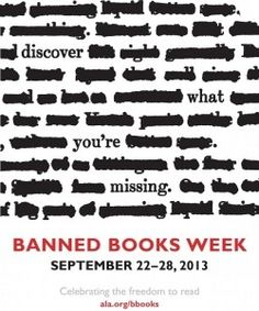 Five banned books that you should read via Forbes magazine.