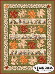 Wilmington Prints Fabrics Autumn Road Throw Quilt Kit 53 by 71 Quilt Block Patterns, Quilt Blocks, Fall Quilts, Appliqué Quilts, Halloween Quilts, Thing 1, House Quilts, Contemporary Quilts, Quilt Kits