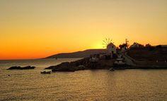 #Sunset #koufonissi #sea #windmill #red #redsky #sunset_ig #greeksunset #greek #greece2017 #travelph #photo #tramonto #kiklades_islands #island
