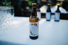 Home Made Cherry Beer Labels Quirky Casual Crafty Northern Ireland Wedding http://www.honeyandthemoonphotography.co.uk/