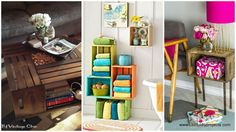 Wooden Crates DIY Projects