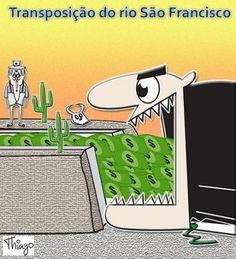"""E Viva a Farofa!: Velho Chico: Jeito (PT-Lula) de governar e o rio que definha.  """"...no começo da execução do projeto, as obras foram orçadas em R$ 4,8 bilhões (2007). Atualmente pulou para R$ 8,2 bilhões.""""."""