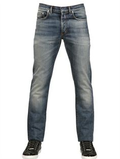DIOR HOMME - 19CM HEAVY SEAS DENIM JEANS - LUISAVIAROMA - LUXURY SHOPPING WORLDWIDE SHIPPING - FLORENCE