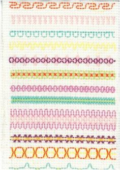 Tekniikka Swedish Embroidery, Embroidery Sampler, Cross Stitch Embroidery, Cross Stitches, Swedish Weaving Patterns, Loom Patterns, Diy And Crafts, Crafts For Kids, Monks Cloth
