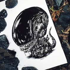 Chicago-based illustrator Alex Solis ( previously ), has created this incredible illustration series that features famous monsters and other terrifying characters from horror movies and tales as babies. Monster Illustration, Character Illustration, Freddy Krueger, Chucky, Michael Jackson Zombie, Alex Solis, Swamp Creature, Illustrator, Arte Alien