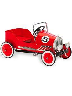 Retro red Pedal Car