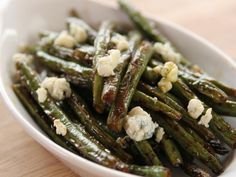 Get Sauteed Green Beans with Lemon and Blue Cheese Recipe Less worcestershire sauce and no hot sauce. From Food Network