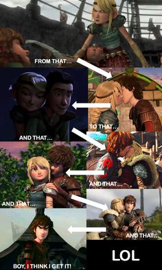 I think Hiccup got mad at me! How To Train Dragon, How To Train Your, Disney Theory, Httyd Dragons, Hiccup And Astrid, Jokes Pics, Dragon Rider, Disney And More, Disney And Dreamworks