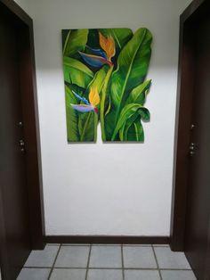 Floral Watercolor, Watercolor Paintings, Wedding Painting, Tropical Art, Plant Art, Leaf Art, Graphic Design Art, Creative Art, Flower Art