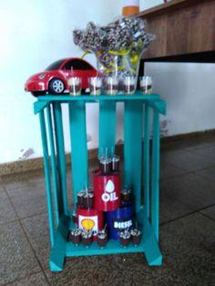 Festa carros - decor. IG: @jessicajj15