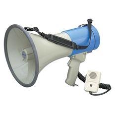Hamilton Electronics 25-Watt Megaphone w/ Microphone https://www.schooloutfitters.com/catalog/product_info/pfam_id/PFAM2056/products_id/PRO6525?sc_cid=Google_HAM-MM9=pla==1238935408