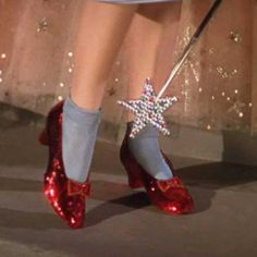 Ruby slippers Wizard of Oz - clothes/shoes with 'magical' power-public program ideas