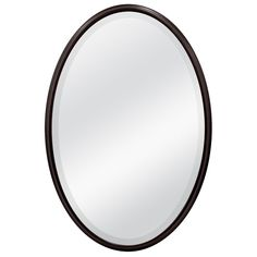 $60. For powder room. MCS Industries 33-in x 23-in Oil Rubbed Bronze Oval Framed Mirror | Lowe's Canada