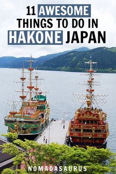 All the best things to do in Hakone, Japan! Places to visit in Japan China Travel, Japan Travel, Hakone Japan, Stuff To Do, Things To Do, Travel Activities, Ultimate Travel, Hot Springs, Wonderful Places