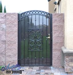 1000 Images About Wrought Iron Gates On Pinterest Side
