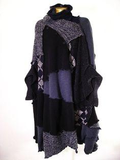 recycled clothing ides | OutsaPop Trashion ::: DIY fashion by Outi Pyy :::: huhtikuu 2008