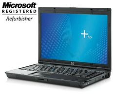Hp Nc6400 Core2Duo 2Gb Ram 80Gb Hard Drive with Windows 7 Pro, and Full Version Microsoft Office Home and Business...