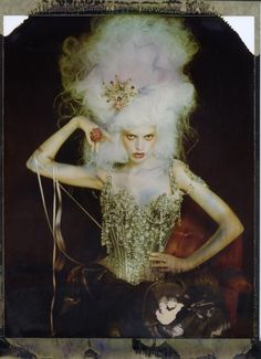 Christian Lacroix SS 1996; corset by Mr. Pearl