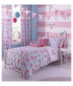 Buy Catherine Lansfield Sweethearts Duvet Cover Set - Single at Argos.co.uk - Your Online Shop for Children's bedding sets.