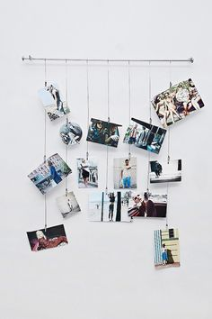 Unique Ideas How to Display Your Family Photos in Your Home - feelitcool.com