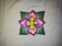 My own flower origami design.  -Florigami By Amy