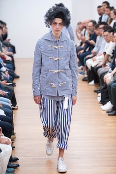 Comme des Garçons Shirt Spring 2016 Menswear - Collection - Gallery - Style.com