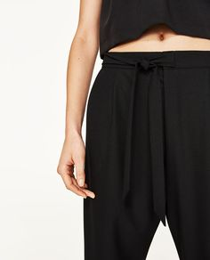Image 4 of DARTED TROUSERS from Zara