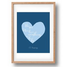I like you better than everything in the sky by Anna Cull on Etsy
