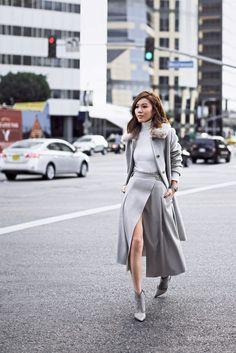 Уличная мода: Лучшие образы от модных блоггеров за неделю: Jules Sarinana, Jenny Tsang, Blair Eadie и другие
