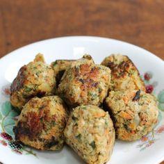 Chicken and Veggie Tots - Little Baby Watson