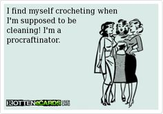 Technically this is crochet humor, but it's so good I'll allow it on the knitting humor board.