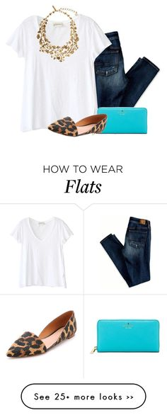 """do what makes you happy"" by morgantaylor37 on Polyvore featuring American Eagle Outfitters, American Vintage, Kate Spade, Madewell and Oscar de la Renta"