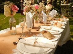 Chic table wedding decor. #CouplesResorts #Jamaica #DestinationWedding