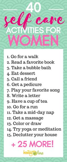 ideas list 40 Daily Self Care Ideas For Women - A Fabulous Self Care Activities List! 40 Daily Self Care Ideas For Women - This Self Care Activities List Is Fabulous List Of Activities, Self Care Activities, Activity List, Baby Care Tips, Skin Care Tips, Take Care Of Yourself, Improve Yourself, Beauty Hacks For Teens, Care Quotes
