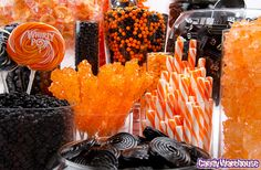 Halloween Candy Buffet by candywarehouse