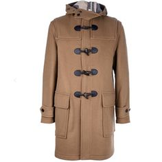 Shop designer parkas for men at Farfetch and enjoy express delivery and free pick-up returns. Burberry Brit, Burberry Classic, Duffle Coat, Stay Warm, Parka, Wool Blend, Man Shop, Brown, Jackets