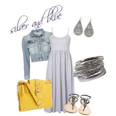 cute outfit but might use another color other than yellow....