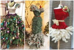 25 Christmas Tree Dress Form Ideas For Your Inner Fashionista. Dreaming off a white Christmas? How about topping it off with a stylish dress form? There's no better time to show off your love…