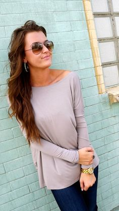 absolutely love these comfy tops, want one in every color!